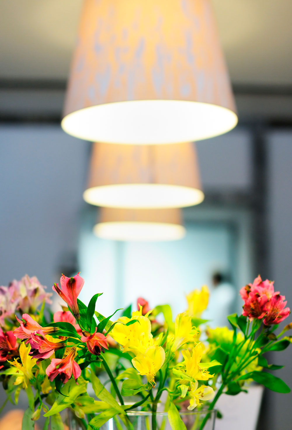 flowers lamps